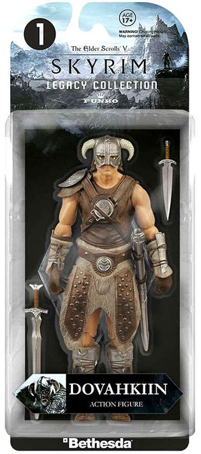 Funko Skyrim Legacy Collection Dovahkiin Action Figure #1
