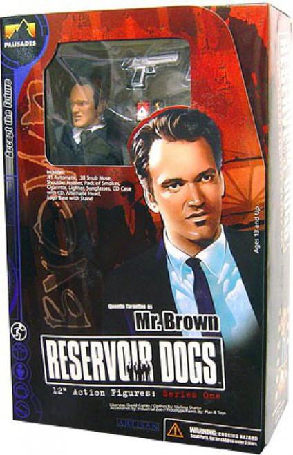 Reservoir Dogs Mr. Brown Deluxe Action Figure
