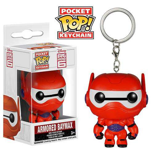 Funko Big Hero 6 POP! Disney Armored Baymax Keychain