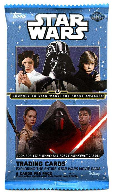 Star Wars Journey To The Force Awakens Trading Card Pack [Hobby]