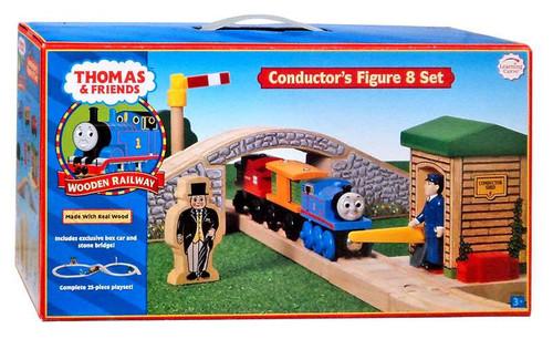 Thomas & Friends Wooden Railway Conductor's Figure 8 Set Track Set
