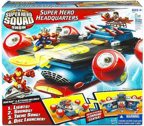 Marvel Super Hero Squad Super Hero Headquarters Action Figure Playset