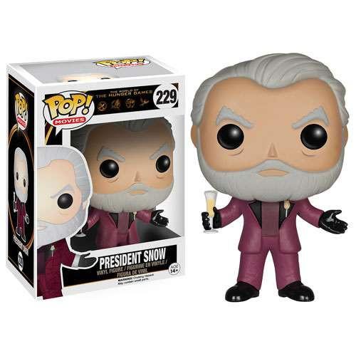 Funko The Hunger Games POP! Movies President Snow Vinyl Figure #229