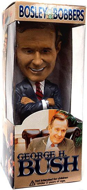 Bosley Bobbers President George H. Bush Bobble Head