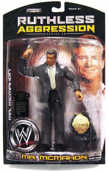 WWE Wrestling Ruthless Aggression Series 28 Mr. McMahon Action Figure