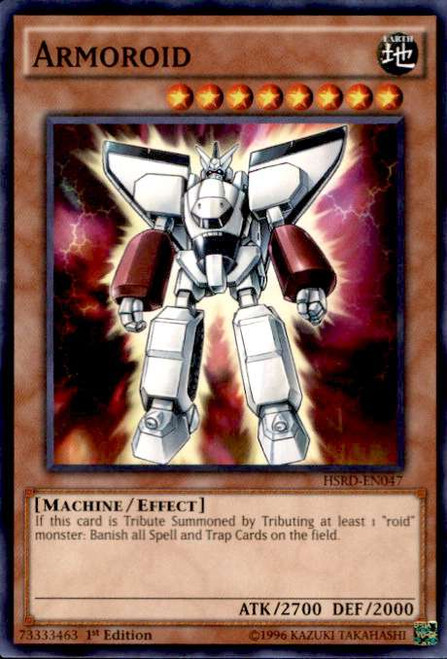 YuGiOh High-Speed Riders Common Armoroid HSRD-EN047