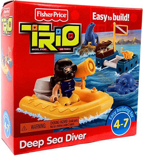 Fisher Price TRIO Deep Sea Diver Playset