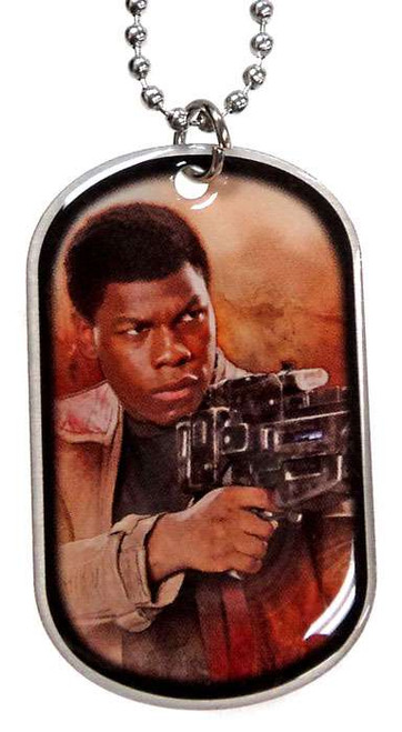 Star Wars The Force Awakens Finn Dog Tag #3 [Loose]