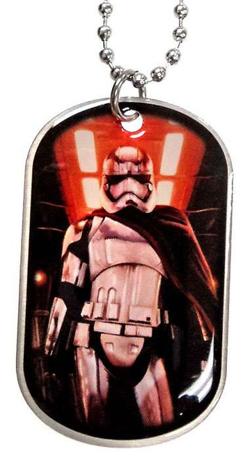 Star Wars The Force Awakens Captain Phasma Dog Tag #5 [Standing Loose]