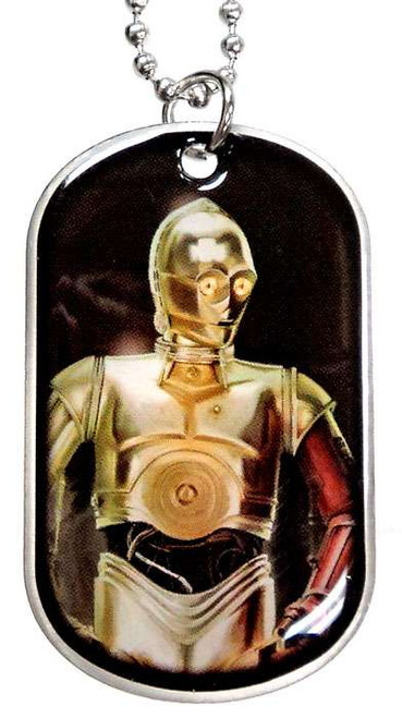 Star Wars The Force Awakens C-3PO Dog Tag #7 [Loose]