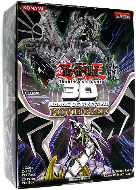 YuGiOh Trading Card Game 3D Bonds Beyond Time Booster Box [20 Packs]