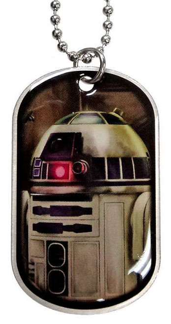 Star Wars The Force Awakens R2-D2 Dog Tag #9 [Loose]