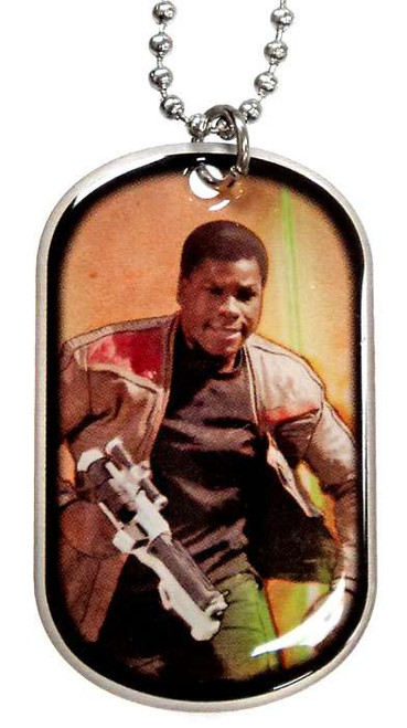 Star Wars The Force Awakens Finn Dog Tag #12 [Loose]