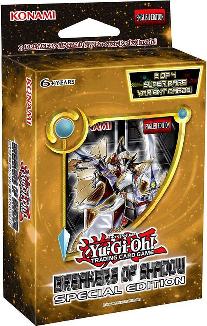 YuGiOh Trading Card Game Breakers of Shadow Special Edition [3 Booster Packs & 1 Random Promo Card!]