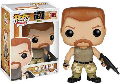 Funko The Walking Dead POP! TV Abraham Vinyl Figure #309