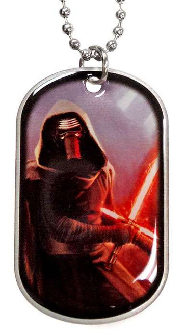 Star Wars The Force Awakens Kylo Ren Dog Tag #13 [Loose]