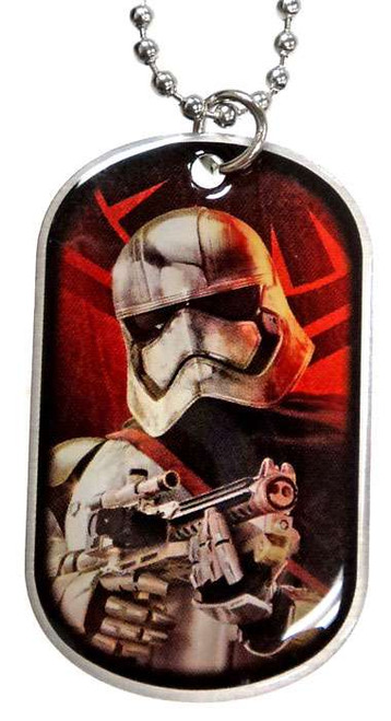 Star Wars The Force Awakens Captain Phasma Dog Tag #15 [Shooting Loose]