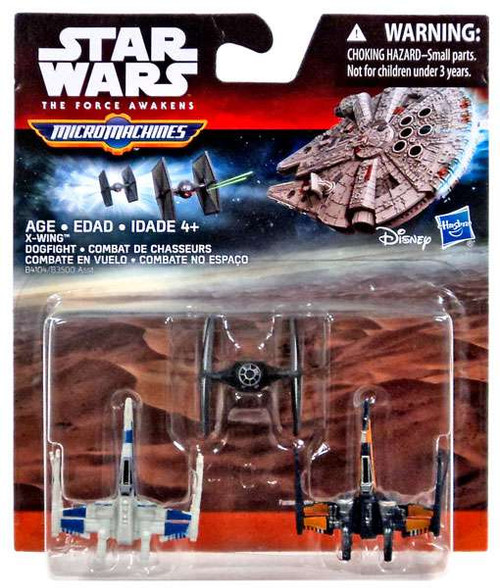 Star Wars The Force Awakens Micro Machines X-Wing Dogfight Vehicle 3-Pack