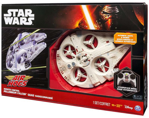 Star Wars Air Hogs Millennium Falcon Quad Remote Control