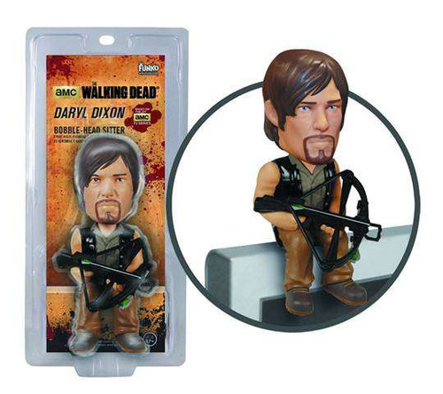 Funko The Walking Dead Computer Sitter Daryl Dixon Bobble Head Sitter
