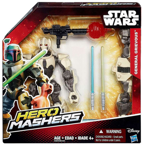Star Wars The Force Awakens Hero Mashers General Grievous Action Figure