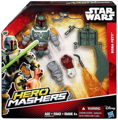 Star Wars The Force Awakens Hero Mashers Boba Fett Action Figure