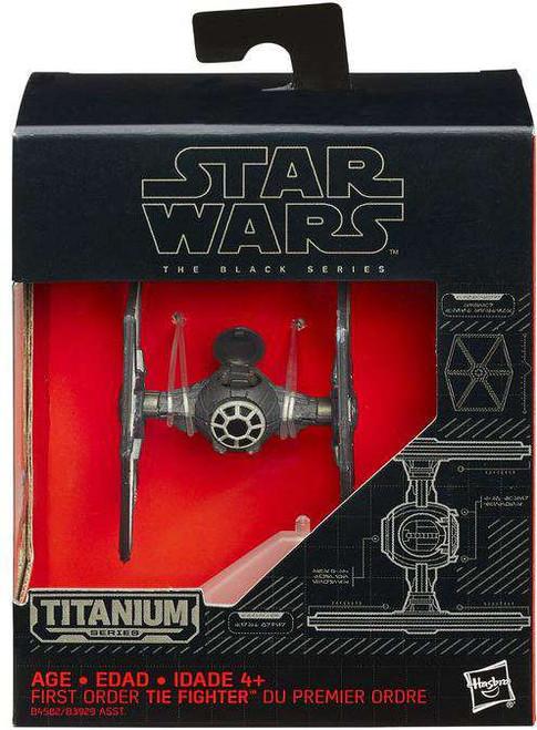 Star Wars The Force Awakens Black Titanium First Order TIE Fighter 2-Inch Diecast Vehicle