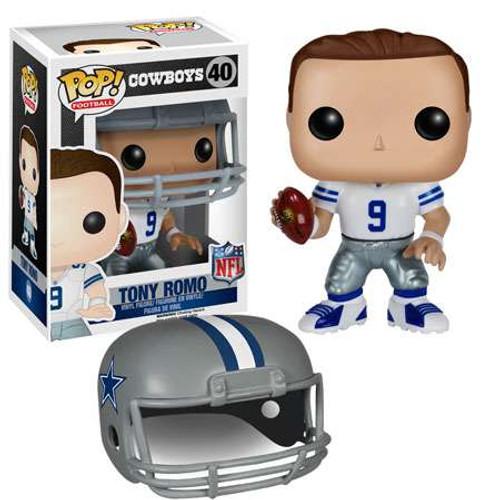Funko NFL Dallas Cowboys POP! Sports Football Tony Romo Vinyl Figure #40