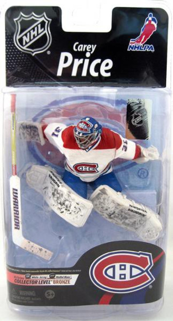 McFarlane Toys NHL Montreal Canadiens Sports Picks Series 26 Carey Price Action Figure [White Jersey]