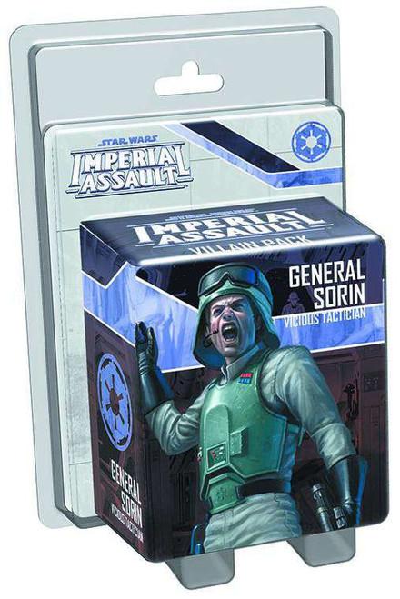 Star Wars Imperial Assault General Sorin Villain Pack