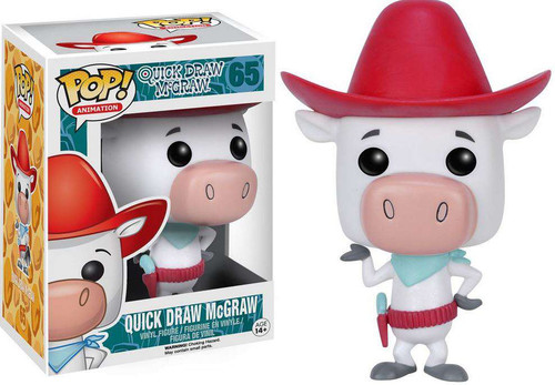 Funko Hanna-Barbera POP! TV Quick Draw McGraw Vinyl Figure #65 [Regular Version]