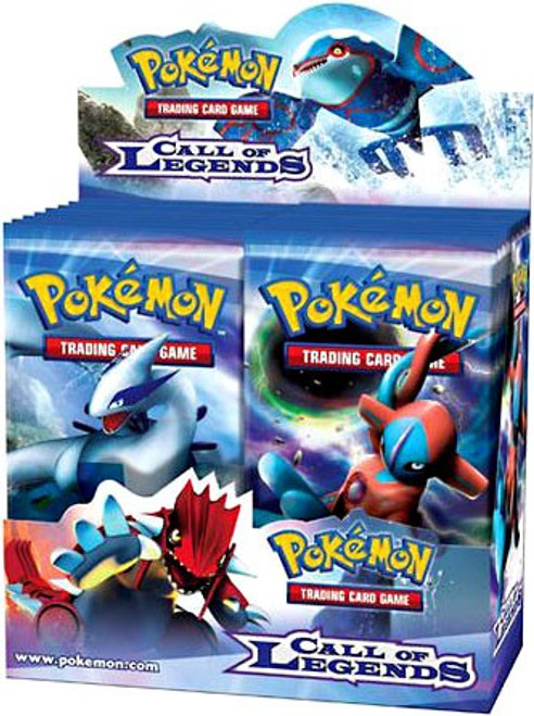 Pokemon Trading Card Game Call of Legends Booster Box [36 Packs]