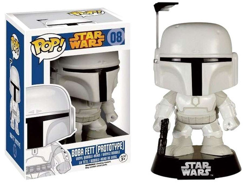 Funko POP! Star Wars Boba Fett Exclusive Vinyl Bobble Head #08 [Prototype]