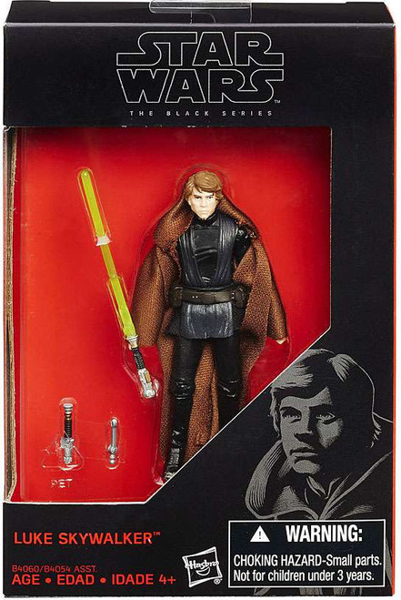 Star Wars Return of the Jedi Black Series Luke Skywalker Exclusive Action Figure [Black Outfit]
