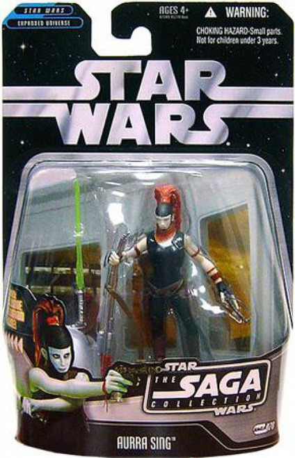 Star Wars Expanded Universe 2006 Saga Collection Aurra Sing Action Figure #70