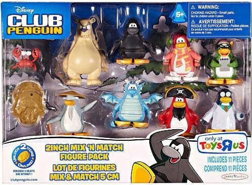Club Penguin Mix 'N Match Mini Figure Set #4 [Set #4]