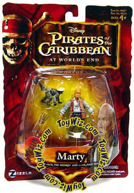 Pirates of the Caribbean At World's End Series 3 Marty Action Figure