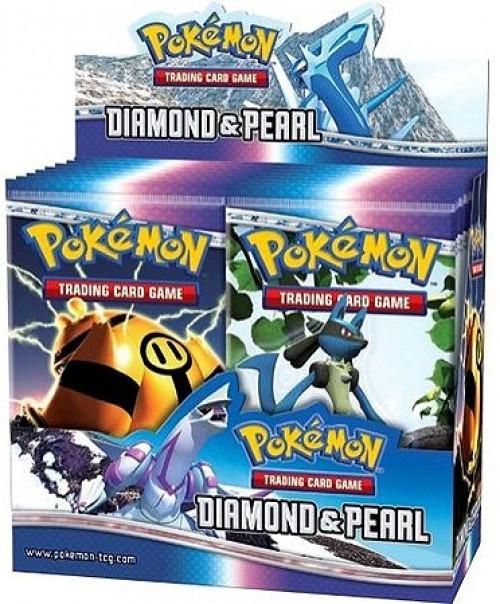 Pokemon Trading Card Game Diamond & Pearl Booster Box [36 Packs]