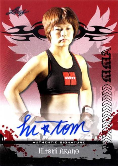 MMA Series 2010 Hitomi Akano Autograph Card AV-HA1