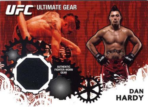 Topps UFC 2010 Championship Ultimate Gear Relic Dan Hardy UG-DH