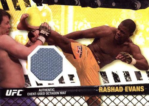 Topps UFC 2010 Championship Fight Mat Relic Rashad Evans FM-RE
