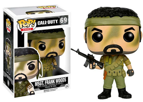 Funko Call of Duty POP! Games MSGT. Frank Woods Vinyl Figure #69