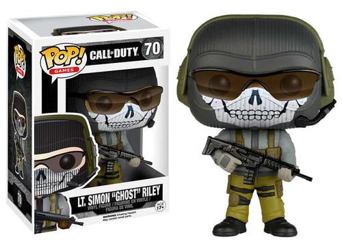Funko Call of Duty POP! Games LT. Simon Ghost Riley Vinyl Figure #70
