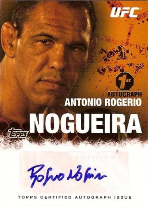 Topps UFC 2010 Championship Autograph Fighters & Personalities Antonio Rodrigo Nogueira FA-ARN