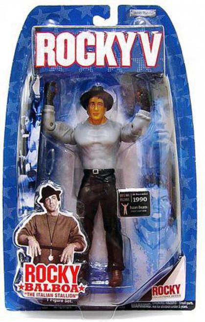 Rocky V Series 5 Rocky Balboa Action Figure [Street Gear]