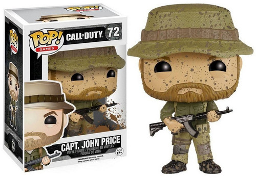 Funko Call of Duty POP! Games Capt. John Price Vinyl Figure #72