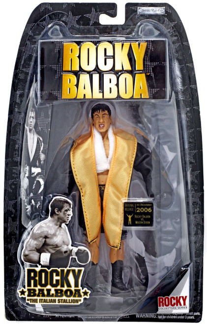 Rocky VI Series 6 Rocky Balboa Action Figure [Fight Gear]