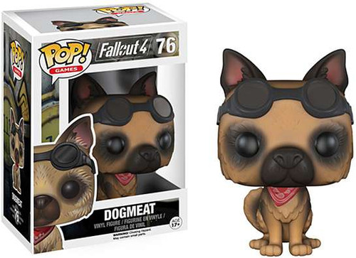 Funko Fallout 4 POP! Games Dogmeat Vinyl Figure #76