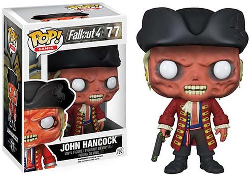 Funko Fallout 4 POP! Games John Hancock Vinyl Figure #77