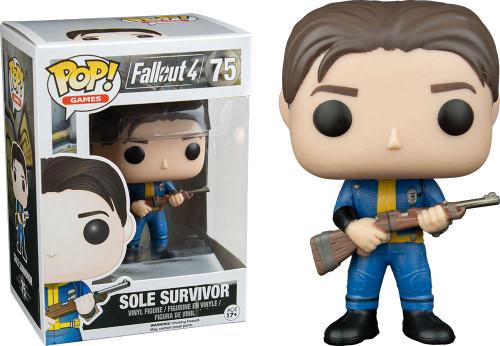 Funko Fallout 4 POP! Games Sole Survivor Vinyl Figure #75